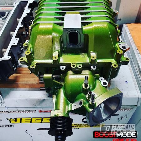 Powder Coating: Sour Apple PPB-2613,CAD,Automotive Parts