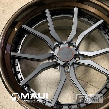 Powder Coated Two Tone 3 Piece Wheels