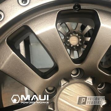Powder Coated 19 Inch Pro Comp Aluminum Rims In Umb-6536