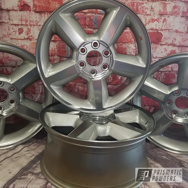 "Powder Coating: Clear Vision PPS-2974,Heavy Silver PMS-0517,SUPER CHROME USS-4482,Chevrolet,Super Chrome,20"" Aluminum Wheels,Avalanche,2 Tone Wheels"