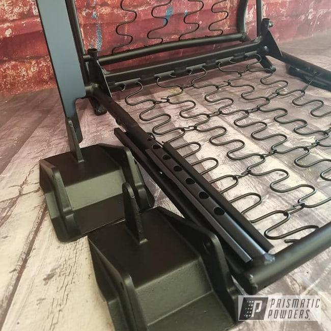 Powder Coating: Automotive,Seat Bracket,BLACK JACK USS-1522,Automotive Parts