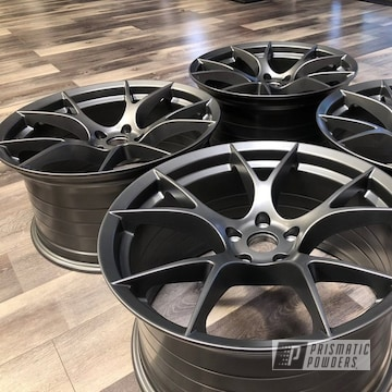 Powder Coated Project 6gr 10 Spoke Wheels In Pmb-5969