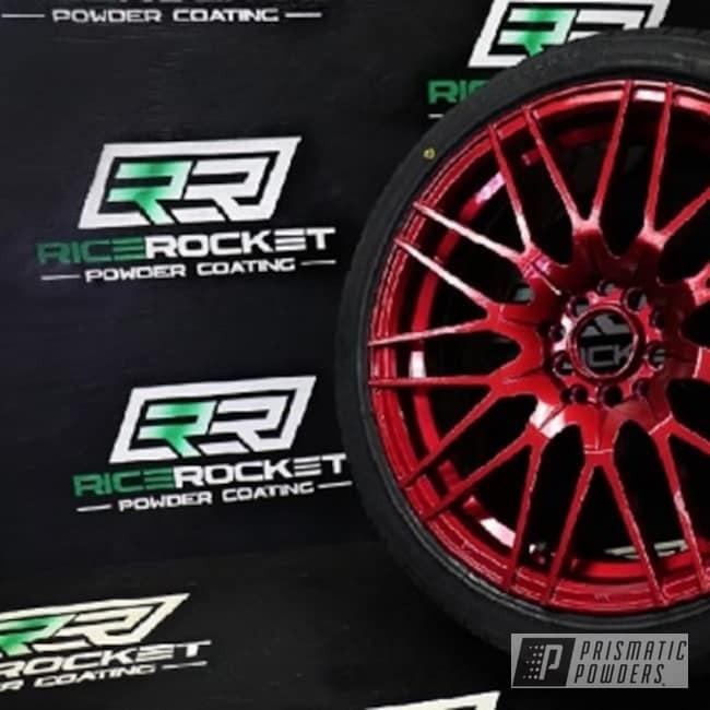 Powder Coated Custom 19 Inch Aluminum Wheels In Upb-5514