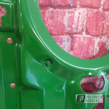 Powder Coated Green Refinished John Deere Tractor Parts