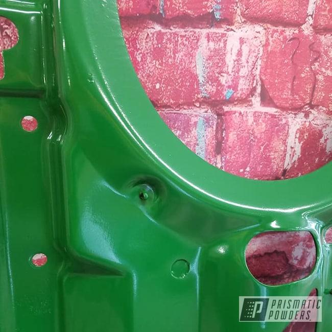 Powder Coating: Automotive,Tractor Parts,Tractor Green PSS-4517,Farming,John Deere