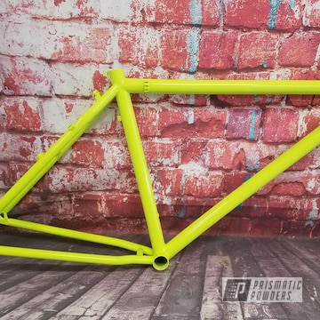 Powder Coated Bike Frame In Pss-7068