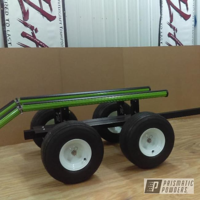 Powder Coating: Bright Lime Green PMB-6304,Jet Ski,Jet Ski Trailer,Miscellaneous