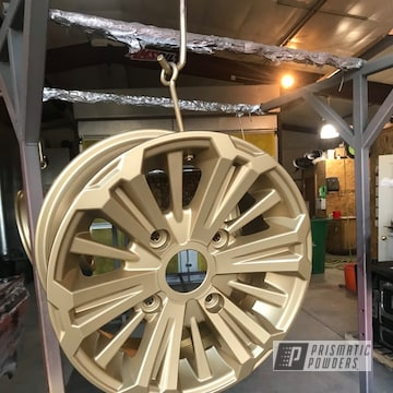 Powder Coated 15 Inch Wheels In Pmb-6487