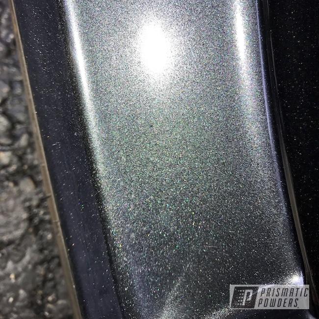 "Powder Coating: Wheels,Custom,Saleen,Automotive,18"" Wheels,Dark Gray,Aluminum Wheels,Alloy Wheels,Black,Charcoal,Prismatic Powders,Lazer Black PMB-4146,Ford,Mustang"