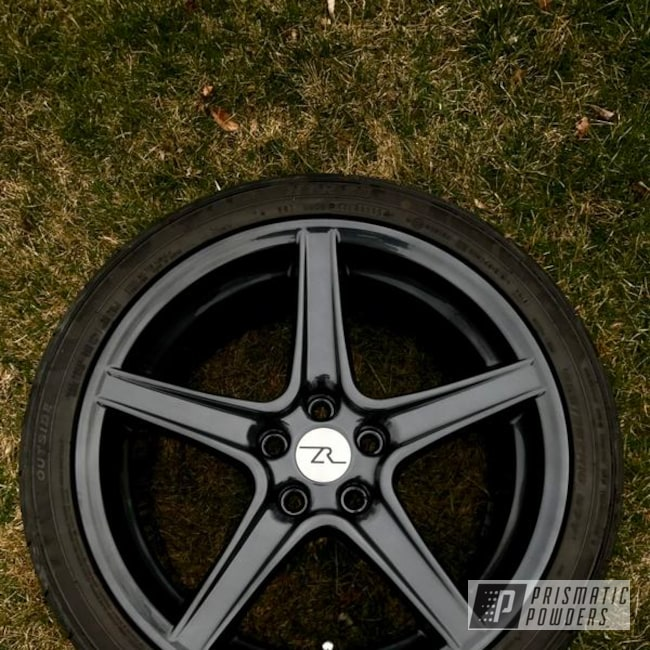 Powder Coated Ford Mustang Wheels In Pmb-4146