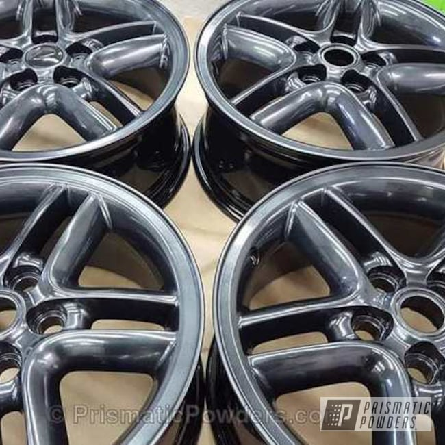 Wheels Done In Crystal Metallic