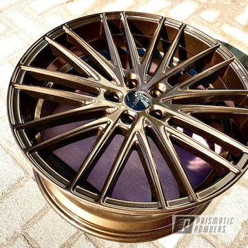 Powder Coated Bronze 18 Inch Audi Wheels