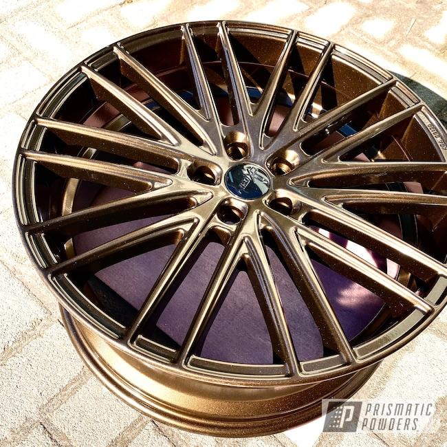 "Powder Coating: Wheels,Automotive,18"",18"" Wheel,Bronze Chrome PMB-4124,Audi,2019"