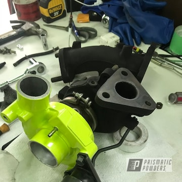 Powder Coated Mitsubishi Turbo Housing In Pss-7068