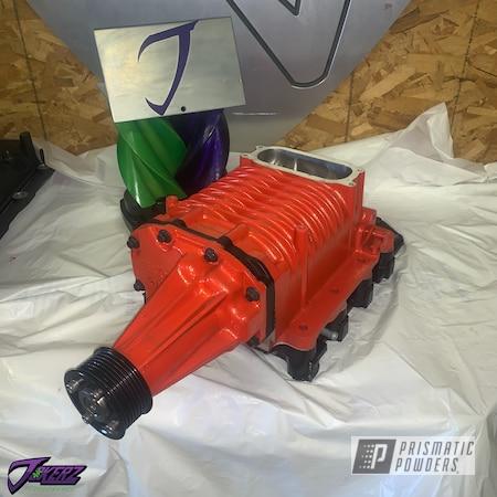 Powder Coating: Automotive,Eaton,svt lig,Ford Supercharger,SVT Lightning,Gorange PMB-4101,Eaton Supercharger,Car Parts,Ford,Lightning,Boosted Parts,Supercharger