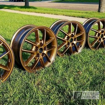 Bronze Chrome Wheels