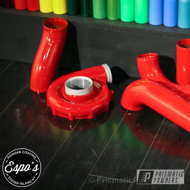 Powder Coating: Passion Red PSS-4783,Automotive,SIC Performance
