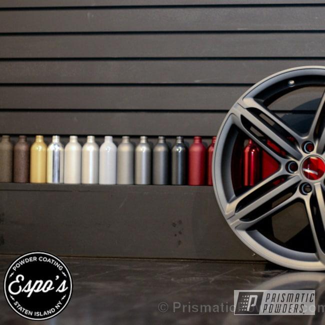 Powder Coating: Wheels,Speedway Grey PMB-4911,Casper Clear PPS-4005