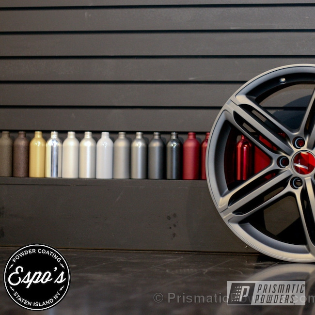 Powder Coating: Wheels,Speedway Grey PMB-4911,Casper Clear PPS-4005