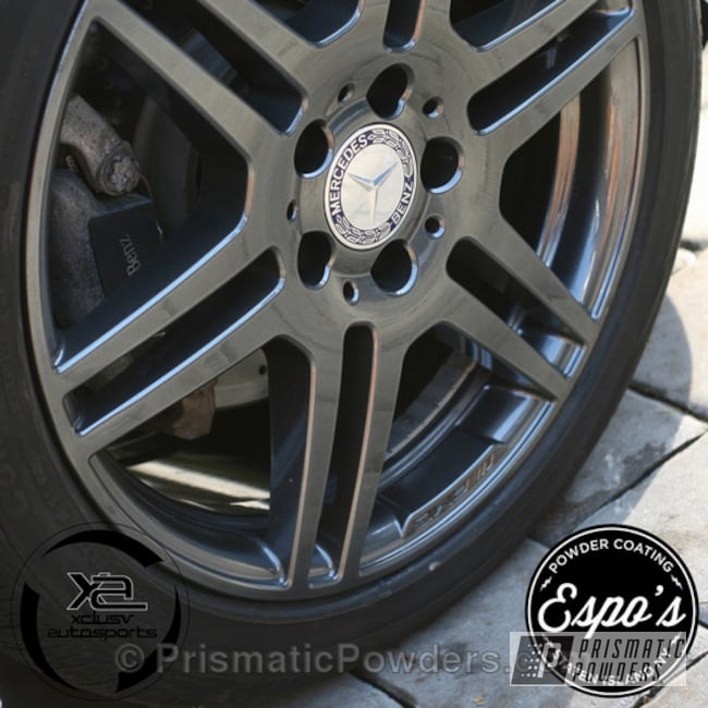 Powder Coating: Wheels,Clear Vision PPS-2974,Speedway Grey PMB-4911