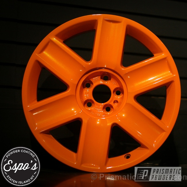 Powder Coating: Wheels,Clear Vision PPS-2974,Burley Man Orange PMB-2939