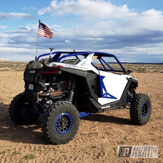 Powder Coating: Automotive,Clear Vision PPS-2974,Xppro,Illusion Blueberry PMB-6908,Polaris,Rollcage,RZR