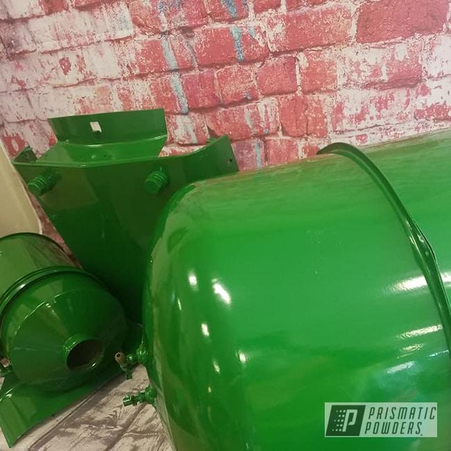 Powder Coating: Automotive,Tractor Parts,Tractor Green PSS-4517,Tractor,John Deere