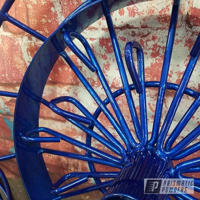 Powder Coating: Frisbee Golf,Cheater Blue PPB-6815,Transparent Powder Coating,Sports,Outdoor Fun,Miscellaneous