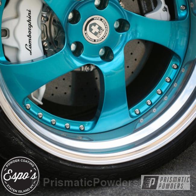 Powder Coating: AQUA CLEAR UPS-1680,Wheels,SUPER CHROME USS-4482,chrome,Lamborghini Murcielago