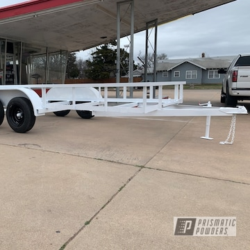 Powder Coated Refinished Trailer In Uss-2603 And Pss-5690