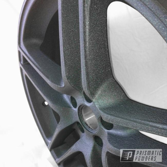Powder Coating: Wheels,Desert Charcoal Wrinkle PWB-2767