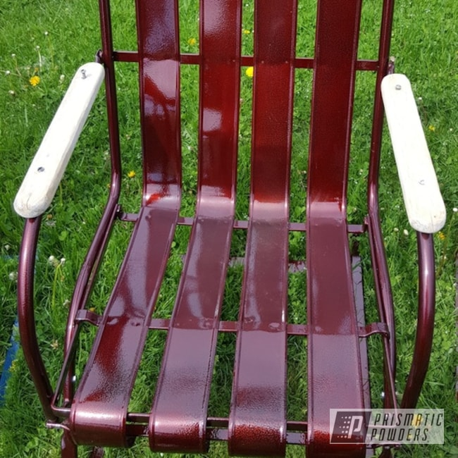 Powder Coating: Metal Chairs,Pre WWII,Clear Vision PPS-2974,Chairs,Golden Vein PVB-5213,LOLLYPOP RED UPS-1506,Vintage Lawn Chairs,Lloyd Metal Chairs