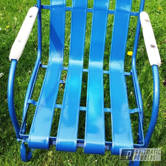 Powder Coating: Vintage Chairs,Clear Vision PPS-2974,Vintage Lawn Chairs,Lloyd Metal Chairs,Outdoor Furniture,Double Blue Vein PVS-5764