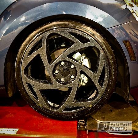 "Powder Coating: Shattered Glass PPB-5583,Wheels,19"" Wheels,19"",Automotive,Alloy Wheels,Clear Vision PPS-2974,R8S8,Ink Black PSS-0106,19"" Aluminum Rims,Radi8 Wheels,Aluminum Wheels"