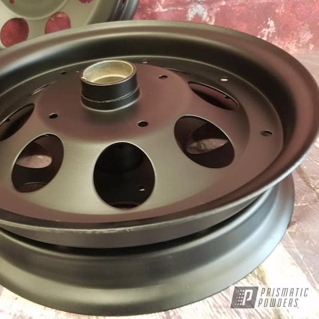 Powder Coating: Automotive,BLACK JACK USS-1522,Motorcycle Parts,Dirt Bike Parts,Dirt Bike