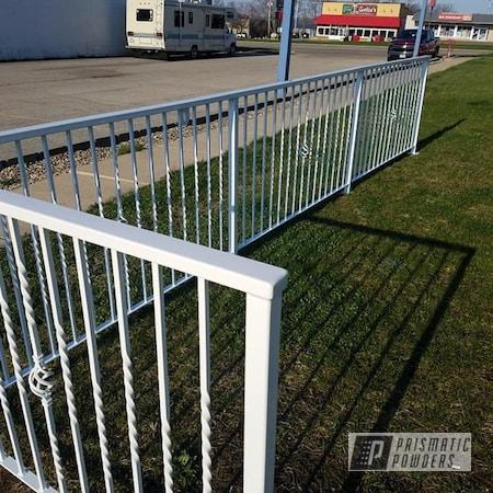 Powder Coating: Hand Railing,Gloss White PSS-5690,Miscellaneous