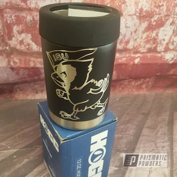 Powder Coated Custom Can Koozie In Uss-1522