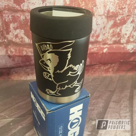 Powder Coating: BLACK JACK USS-1522,Drinkware,HOGG,Can Koozie
