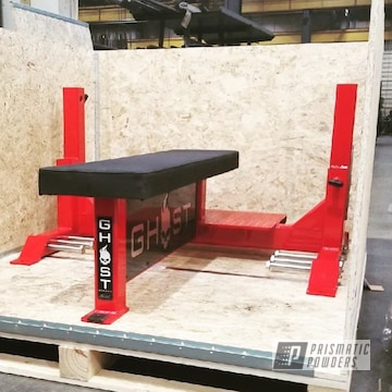 Powder Coated Ghost Strong Weight Lifting Equipment In Pss-0106