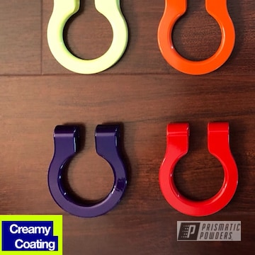 Multi Color Custom Tow Hooks