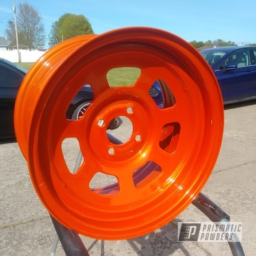 Powder Coated 15 Inch Wheels In Pms-6964
