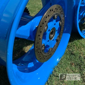 Powder Coated Suzuki Hayabusa Wheels In Pss-1715