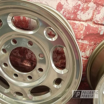 Powder Coated 16 Inch Aluminum Rims In Pps-2974 And Uss-4482
