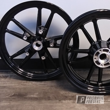 Powder Coated Motorcycle Wheels In Uss-2603