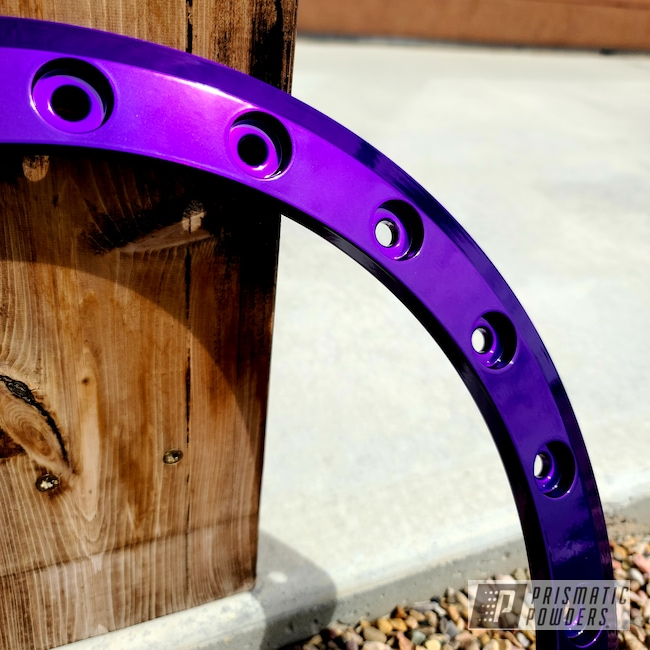 Powder Coating: Illusion Purple PSB-4629,Automotive,Clear Vision PPS-2974,Wheel Faces