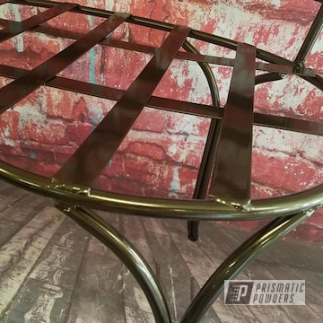 Powder Coated Refinished Bench Frame In Pmb-4124