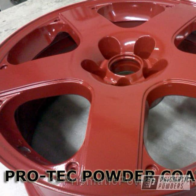"Powder Coating: Wheels,Vampire Red PSS-3013,17"" Wheels Vampire Red"