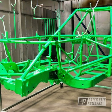 Powder Coated Custom Race Car Chassis In Pss-1221