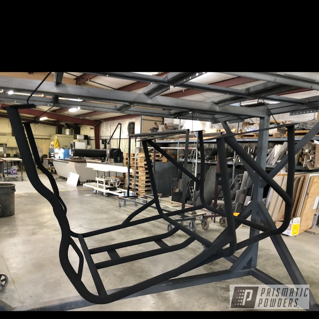 Powder Coating: Automotive,GLOSS BLACK USS-2603,Toyota,Toyota FJ40,Rollcage,Epoxy Primer ESS-6518