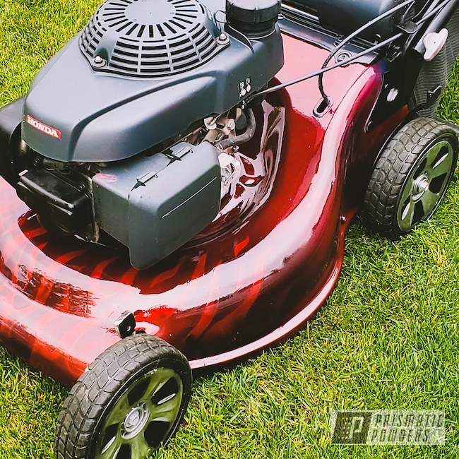 Powder Coating: Clear Vision PPS-2974,Home and Garden,Honda,Tools,Lawn Mower,Illusion Red PMS-4515